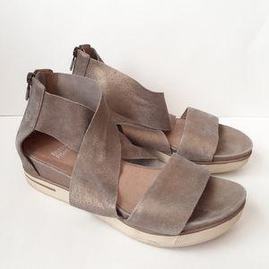 Eileen Fisher Sport Crossover Gladiator Sandals